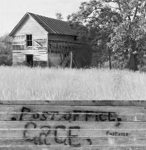 Jonathan Henry Harrison Boyd cabin Gage Post Office