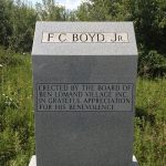 F.C. Boyd, Jr. Memorial Monument Morrison Tennessee
