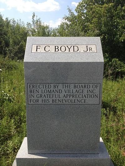 F.C. Boyd, Jr. Memorial Monument Morrison Tennessee