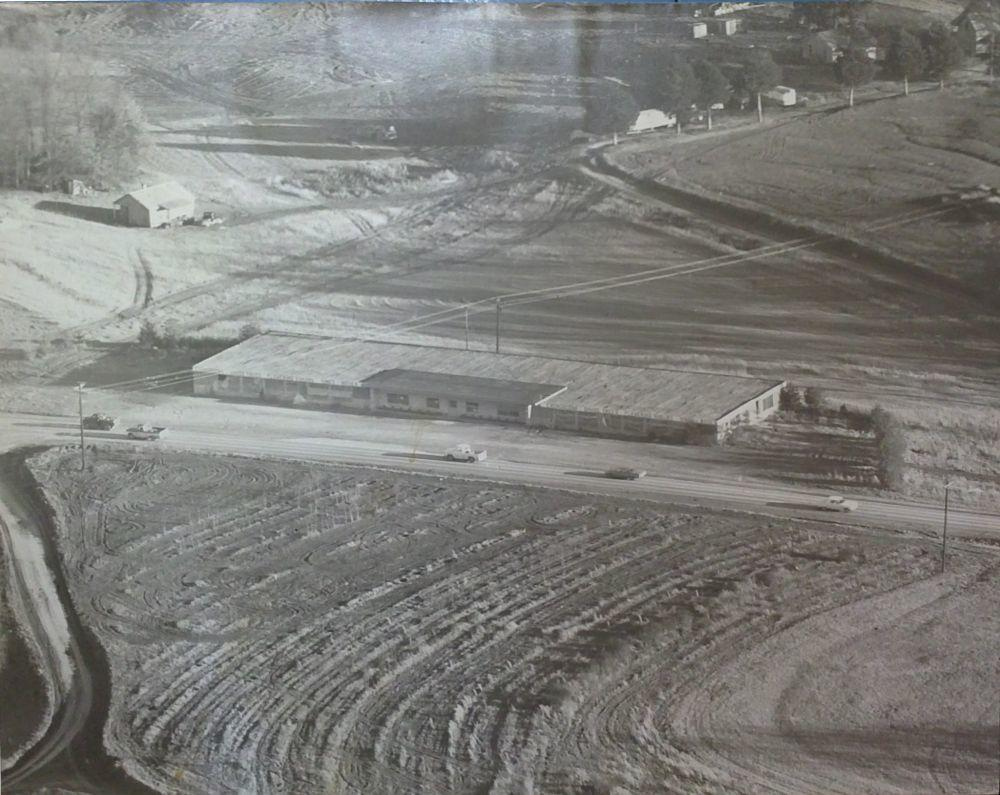 Arial Photo of Boyd Nursery late 1950s