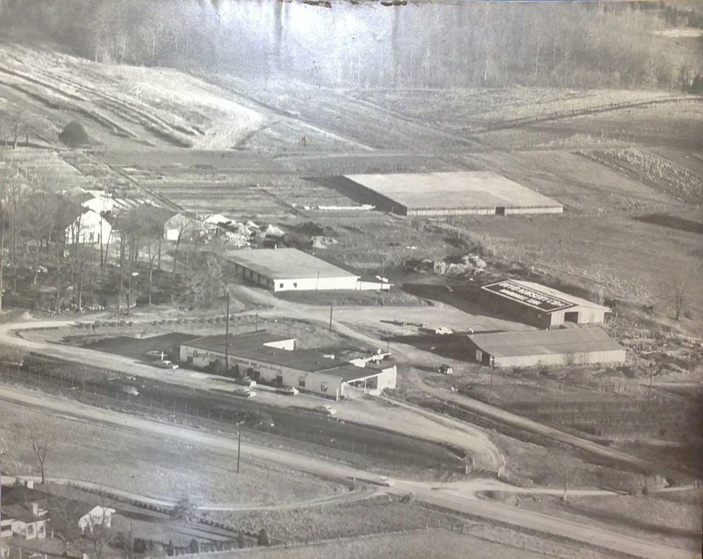 Arial Photo of Boyd Nursery Company Late 1950s