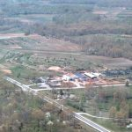 Arial Photo of Boyd Nursery Company early 1980s