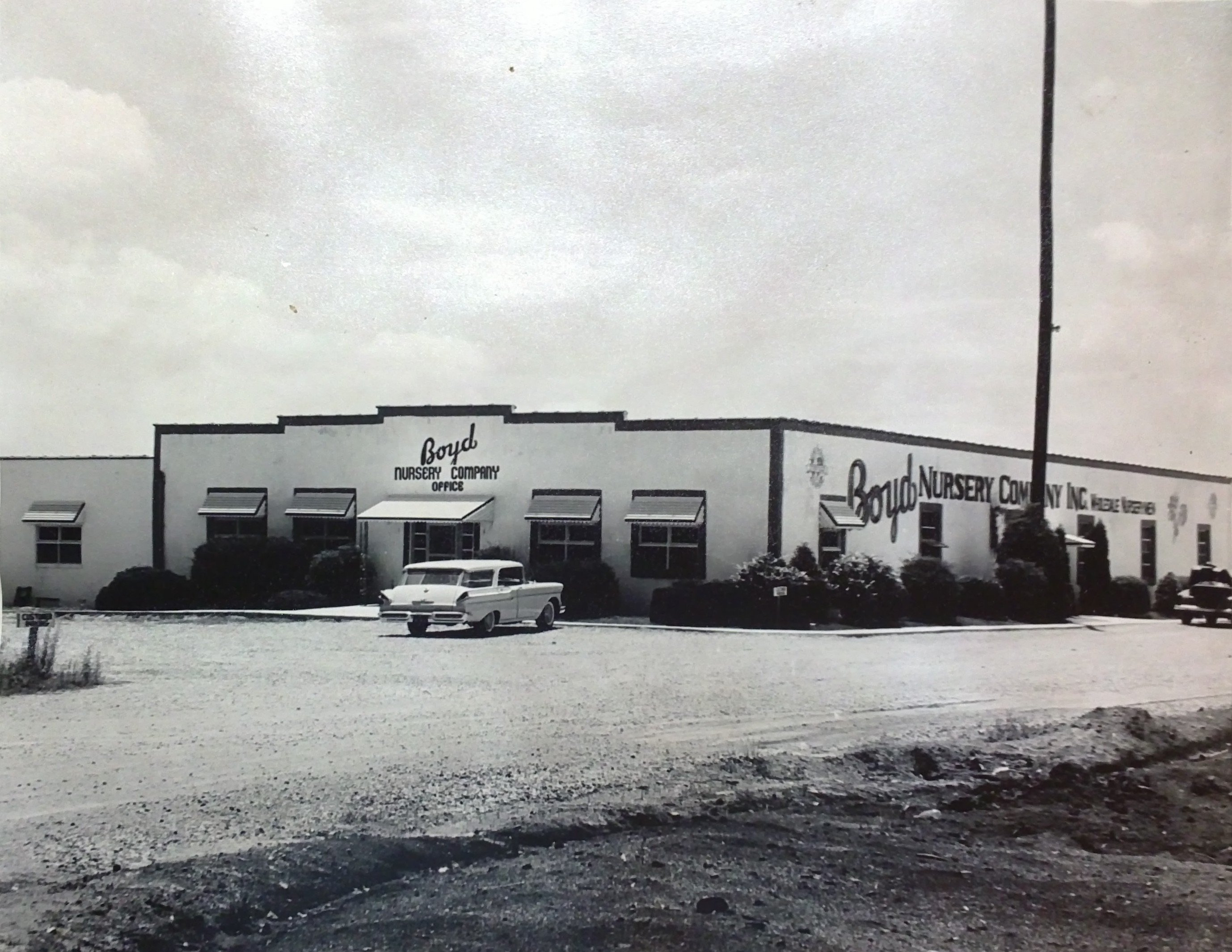 Boyd Nursery Company Office 1960s