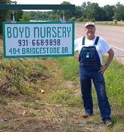 Campbell Boyd Boyd Nursery Company