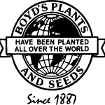 Boyd Nursery Company Globe Logo